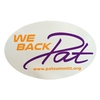 We Back Pat Decal