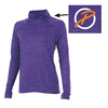 Ladies Space Dye Performance Pullover