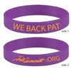 We Back Pat Wristband