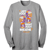 Left Foot, Right Foot, Breathe L/S Tee