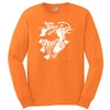 2018 We Back Pat Night L/S Orange Tee